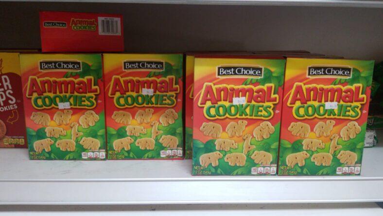 Tasty Animal Cookies